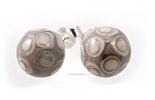 Ohrstecker mit handgefertigten Glasperlen mit echt Silber 925 Stecker