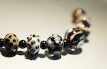Halsketten aus Glasperlen (verkauft an Frau Bach/Deutschland)