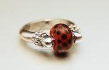 Marini Ring mit CIM-Glas-Perle