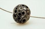"""""""Caviar"""" Murano-/Reichenbachglas Perle (hat sich Iris/Deutschland ausgesucht)"""