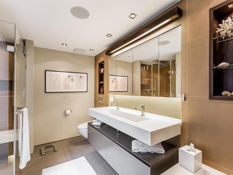 Umbau eines Badezimmers in Oetwil an der Limmat