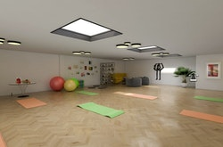 möglicher Ausbau Yogastudio